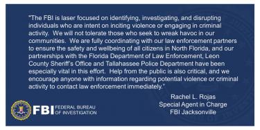 フロリダの議事堂でトランプ支持者への武力攻撃を企てた急進左翼をFBIが逮捕